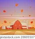 Autumn Farm Landscape 20605507