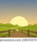 The wooden bridge 20605870