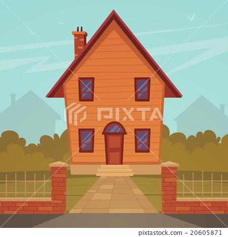 Cartoon House 20605871