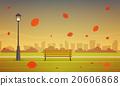 Autumn City Park 20606868