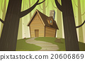 vector, house, lodge 20606869