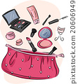 Pink Purse Make Up Kit 20606949