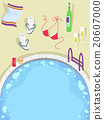 Group Pool Party Elements 20607000