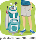 Feet Golf Bag 20607009