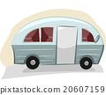 Transportation Trailer Van 20607159