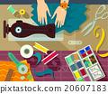 Flat Hand Sewing Materials 20607183