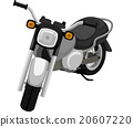Parked Motorcycle 20607220