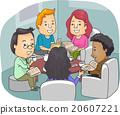 Book Club Coffee Discussion 20607221