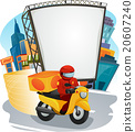 Fastfood Delivery Man 20607240