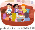 Stickman Friends Conversation Pit 20607338