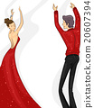 Couple Ballroom Dance 20607394