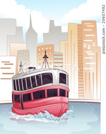 City Transportation Ferry 20607492