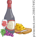 Wine and Cheese 20607495