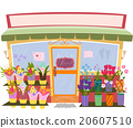 Flower Shop Store Front Sign 20607510