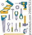 Construction Tools Set Elements 20607521