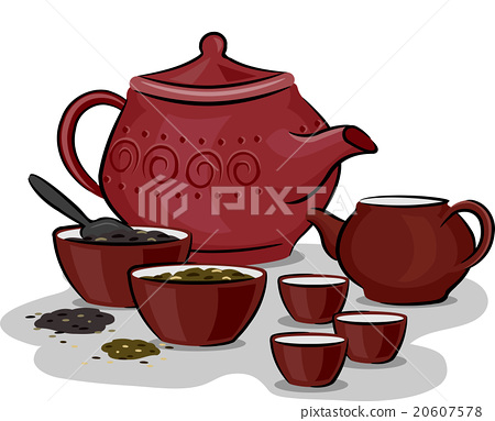 Chinese Traditional Tea Preparation 20607578