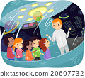 Stickman Kids Outer Space Study Tour 20607732