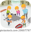 Stickman Kids Community Service Teacher Help 20607797