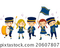 Stickman Kids Lyre Band Uniform 20607807