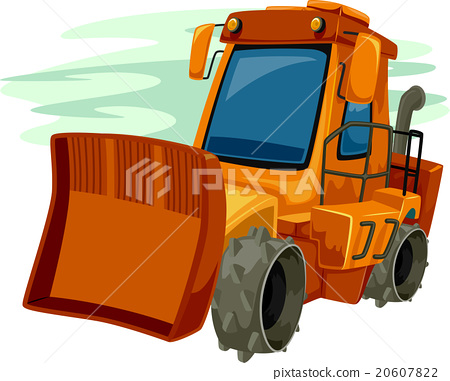 Heavy Equipment Bulldozer 20607822
