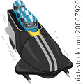 Sports People Bob Sled 20607920