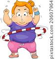 Exercise Kid Girl Fat Hula Hoop 20607964