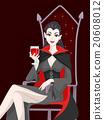 Vampire Girl Blood Wine 20608012