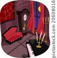 Vampire Room Coffin 20608016