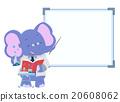 Cute Elephant Lab Teacher 20608062