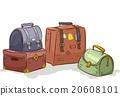Vintage Traveling Bags Pack 20608101
