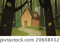 Cabin in woods 20608432