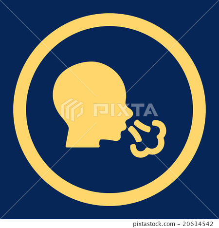 Sneezing Rounded Vector Icon 20614542