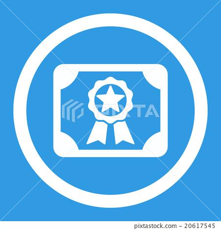 Award Diploma Rounded Vector Icon 20617545