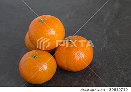 Stock Photo: orange, oranges, navel orange