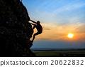 man, climber, rock 20622832