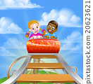 Roller Coaster Amusement Park 20623621
