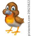 Cartoon Robin Bird 20623622