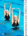 Synchronized swimming 20631754