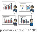 公司職員 數據 會議 20632705