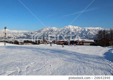 上越國際滑雪場前的溫和斜坡 20641940