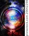 Nebula, Cosmic space and stars, blue cosmic 20642298