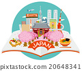 japan, sightseeing, vector 20648341