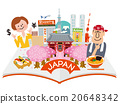 japan, sightseeing, vector 20648342