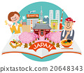 japan, sightseeing, vector 20648343