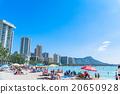 夏威夷 檀香山 威基基海滩 20650928