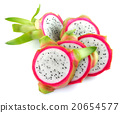 Dragon Fruit on white background 20654577