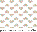 Asia, Heart, Pattern, Heart Shape, Succulent Plants, Floral Pattern, Herb, Ornament Plants, Deconik, Asian Tay 20658267