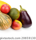 fruit and vegetable isolated on white background 20659130