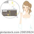 厨房 女性 女 20659924