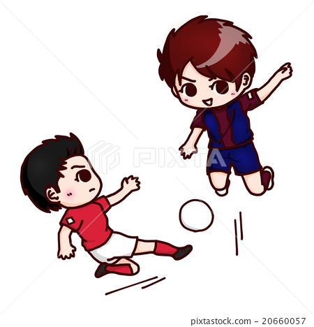 Children playing soccer 20660057
